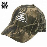 Quality PROMOTION CAMO ADULT COTTON PRINT EMBROIDERED EMB PIONEER CAP wholesale