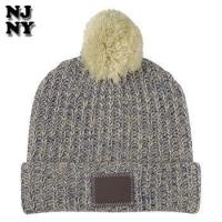 Buy cheap custom printed winter knitted jacquard beanie cap hat from wholesalers