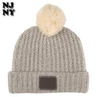 Buy cheap custom winter 3gg 7gg 9gg cylinder knit beanie hat from wholesalers