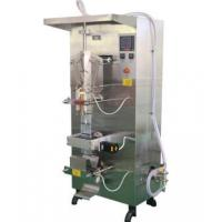 China Automatic Milk Bag Filling And Packing Machine Water Bag Packing Machine on sale