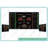 China Stadium Electronic Digital Scoreboards With Shot Clock And Period Time For Basketball Sports on sale