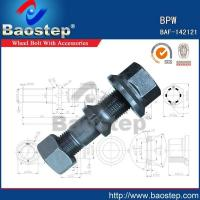 Quality Cold Forged BPW Wheel Nuts and Bolts wholesale