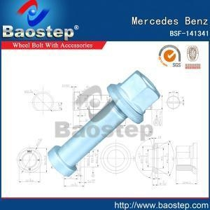 Cheap Cold Forged Mercedes Benz Wheel Nuts and Bolts for sale