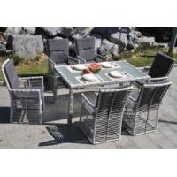China Patio Cushioned Outdoor Wicker Rattan Garden Furniture on sale