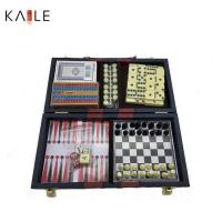 Buy cheap toy series 6 in 1 game set with leather box from wholesalers