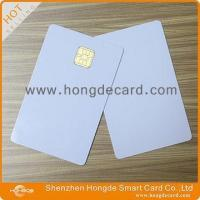 Quality Contact IC Card FM4442 blank white card wholesale
