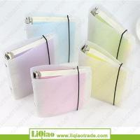 Quality A4 B5 A6 A7 white PVC cover 6 ring binder cashbook wholesale