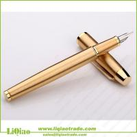 Quality Gold-plated clip foutain pen wholesale