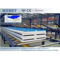 Quality 50mm thick heat insulation PUR(Polyurethane)sandwich roof panels 500-1000mm width wholesale