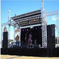 China aluminum stage truss concert truss with PA tower on sale