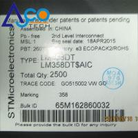 Buy cheap Active Components ICs LM358 General Purpose Amplifier ICs LM358DT from wholesalers