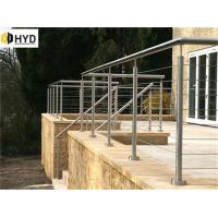 Quality South America popular low cost galvanized steel deck /balcony cable railing system wholesale