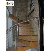 Quality Wire Rope Balustrade / Cable Railing With Stainless Steel Post Or Wood Post wholesale