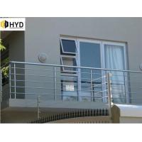 Quality Interior Classic metal rod railing for stair/used stainless steel cable railing price wholesale