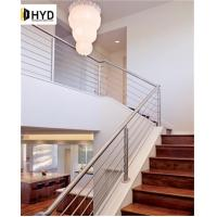 Quality Interior Stainless Steel Wire Rod Railing for Handrail System wholesale