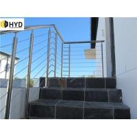 Quality Horizontal Steel Rods Staircase Railing wholesale