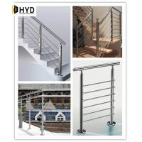 Quality Solid Rod Stainless Steel Railing Design for Balcony / Stairs wholesale