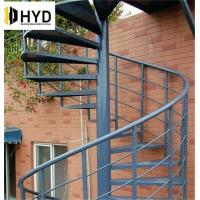 Buy cheap commercial metal cast iron spiral staircase from wholesalers