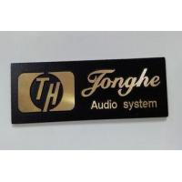 Quality Eco Friendly Aluminum Alloy / Nickel Customized Name Plates / Label wholesale