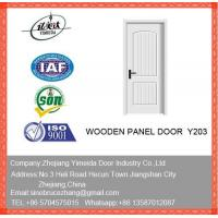 China White Wooden Internal Doors For Bedroom on sale
