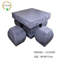 Quality Artificial Granite Garden Table And Chair wholesale