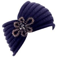 Quality Womens Knit Headbands with Crystal wholesale