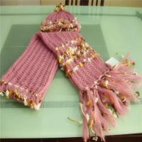 Buy cheap Pink Hat And Scarf Set from wholesalers