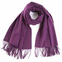 Quality Solid Plain Woolen Shawl wholesale
