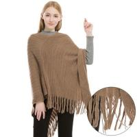 Quality Cashmere Feel Poncho Sweater wholesale