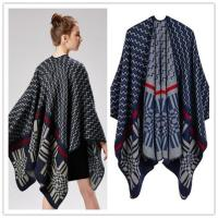 Buy cheap Poncho Cashmere Like Acrylic Poncho from wholesalers