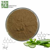 Buy cheap Manufacturer Supply Barbaloin 10%-98% Aloe Vera Extract from wholesalers