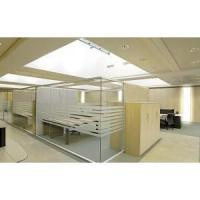 Quality frosted glass partition low height office partition wholesale