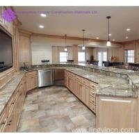 Quality High end popular kitchen cabinet with bar design wholesale