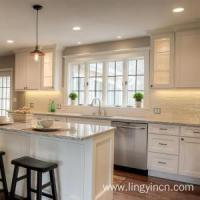 Quality Painted Shaker Modular Kitchen Cabinets Designs wholesale