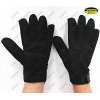 Quality Palm Sandy Nitrile Anti Oil TPR Cut Resistance Gloves with Wrist Strap wholesale