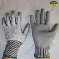 Quality HPPE liner double dipped nitrile coating cut resistant gloves wholesale