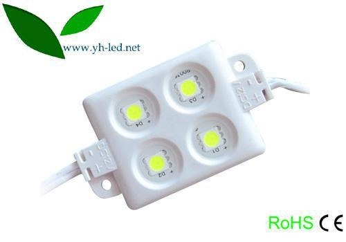 Cheap Injection plastic 5050 4 LED module for sale