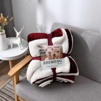 China Sherpa Throw Blanket on sale