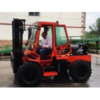 Buy cheap 3.5T Rough terrain AWD Counter balance forklift W35 from wholesalers