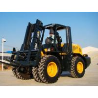 Buy cheap 10T Rough terrain AWD Articulated forklift CPCY100 from wholesalers