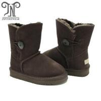 China Girls Bailey Button Faux Shearling Fur Snow Boots on sale