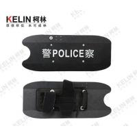 China Helmets and Shields Arm Type Anti Riot Aluminum Shield with LED light on sale