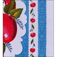 Quality Country Apple Blue Oilcloth wholesale
