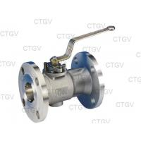 Quality One Piece Floating Ball Valve wholesale