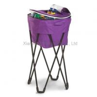Buy cheap Picnic Folding Cooler Bag With Metal Stand from wholesalers