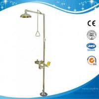 China SH712BSHP-SAFETY SHOWER & EYE WASH COMBINATION UNIT WITH THERMAL MIXING VALVE on sale