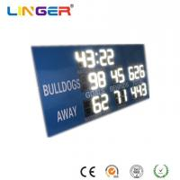 China Blue Cabinet Football and Cricket AFL Billboard Scoreboard in White Color on sale