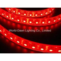 China High Brightness Flexible SMD LED Strip Light for Red Color on sale