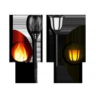 China Solar LED Flickering Flame Light on sale