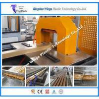 China Wood PVC Profile Extrusion Machine for Indoor and Outdoor Decoration on sale